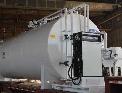 2,000 Gallon Fireguard Tank Diesel Dispenser