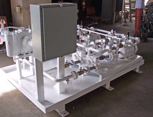 Triplex High-Pressure Boiler Feed Skid