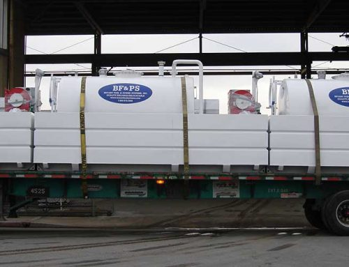 1,000 Gallon Diesel Tank with Containment