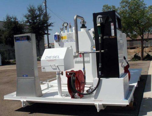 UL 2085 Tank Diesel Dispenser