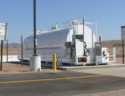 Diesel Fueling System With Twin Hose Dispenser