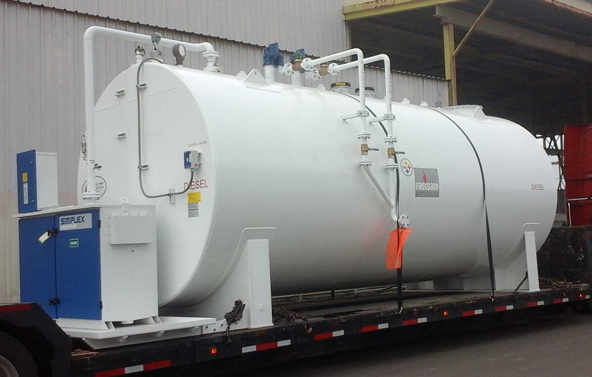 Primary Supply Tank For Us Navy Research Hospital Bryant