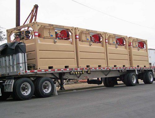 JP 8 Fuel Tanks For USMC in Afghanistan