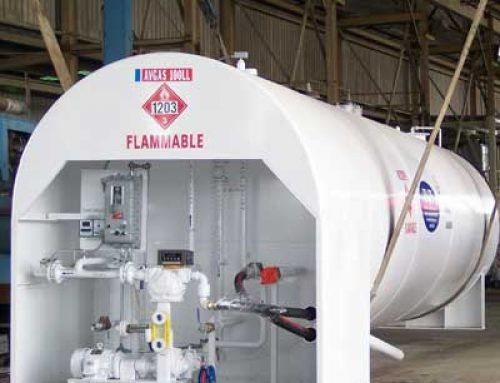 10,000 Gallon Avgas Fuel System