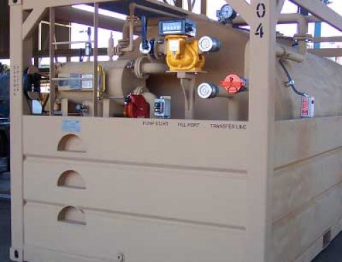 4,000 Gallon Fuel System For US Navy