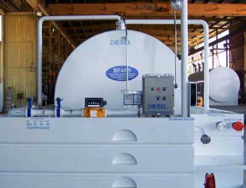 10,000 Gallon Tank & Containment For US Navy