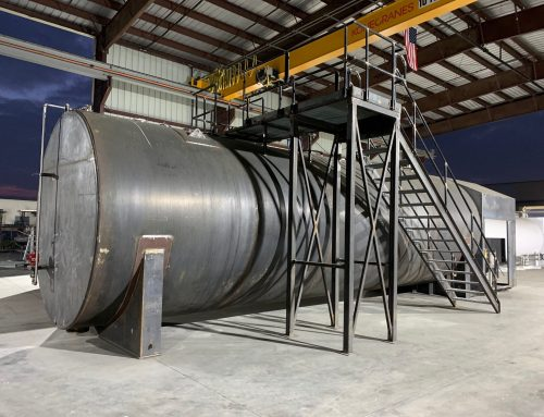 20K Jet Fueling System prior to paint
