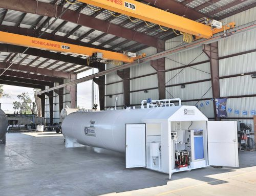 12K Jet Fueling System with Lockable Doghouse.