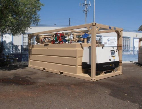 4,000 Gallon ISO Units for the Military in Niger